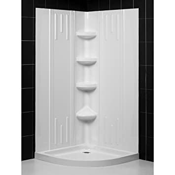 curved b kit wall american shower inch standard ovation bases base bathroom and