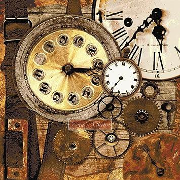 Relojes de punto de Kit de punto de cruz (tela Aida de 18 quilates): Amazon.es: Juguetes y juegos