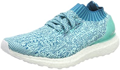adidas Ultraboost Uncaged W, Chaussures de Gymnastique Femme, Turquoise (Energy Aqua F17/Mystery Petrol F17/Ftwr White), 38 2/3 EU