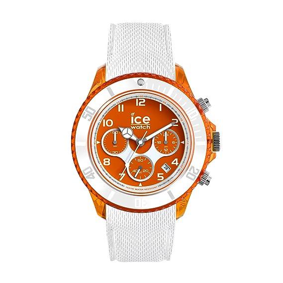 Ice-Watch - Ice Dune White Orange Red - Reloj Bianco para Hombre con Correa