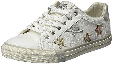 1146-308-1, Sneakers Basses Femme, Blanc (Weiß), 36 EUMustang