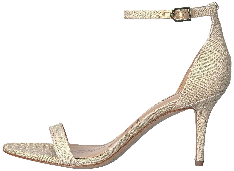 Sam Edelman Women's Patti Dress Sandal B01NCLIJ50 8 B(M) US Jute Glitzy Fabric