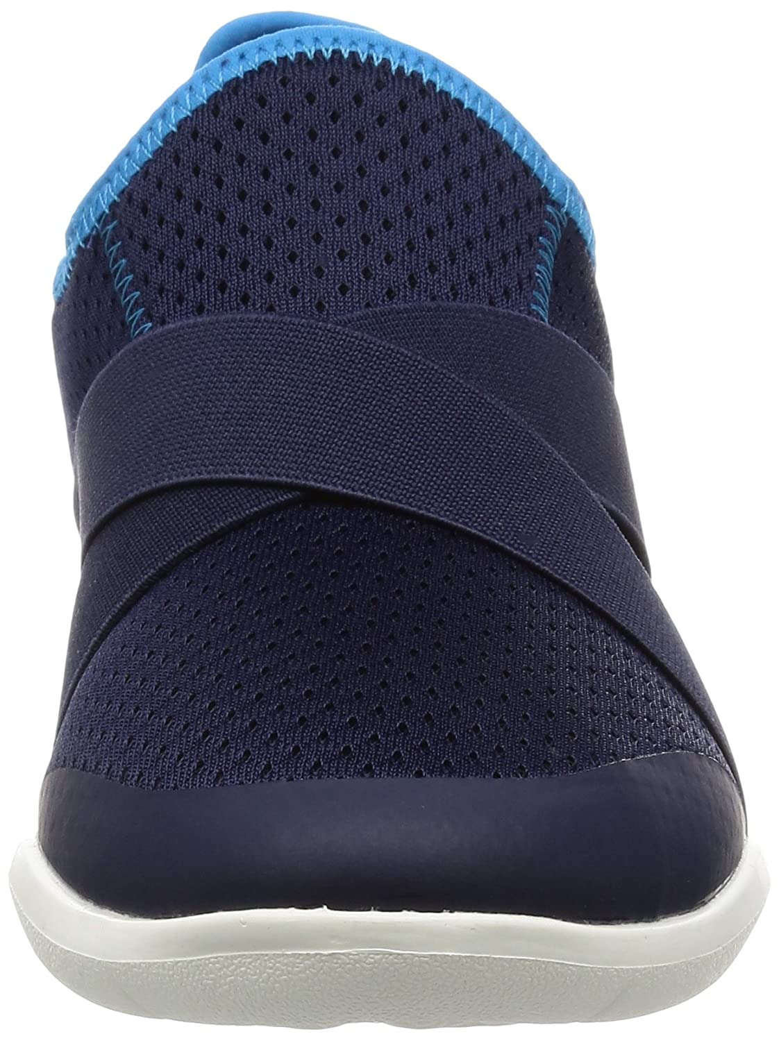 Crocs Damen Swiftwater (Sea X-Strap Pantoletten, schwarz, Blau (Sea Swiftwater / Blau / Weiß / Strap 462b) ae0871