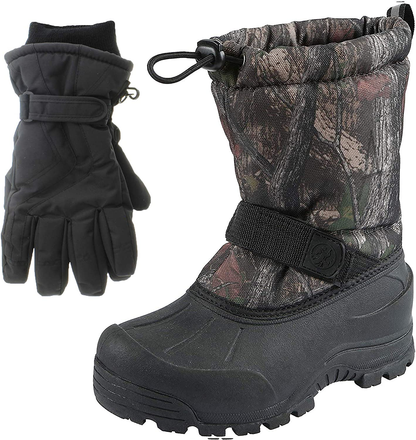   Northside Frosty Kids Winter Snow Boots & Gloves Combo for Girls & Boys   Snow Boots