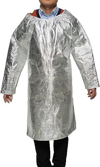 Aluminum Foil Heat Resistant Apron 1000℃ High Temperature Safety Working Apron