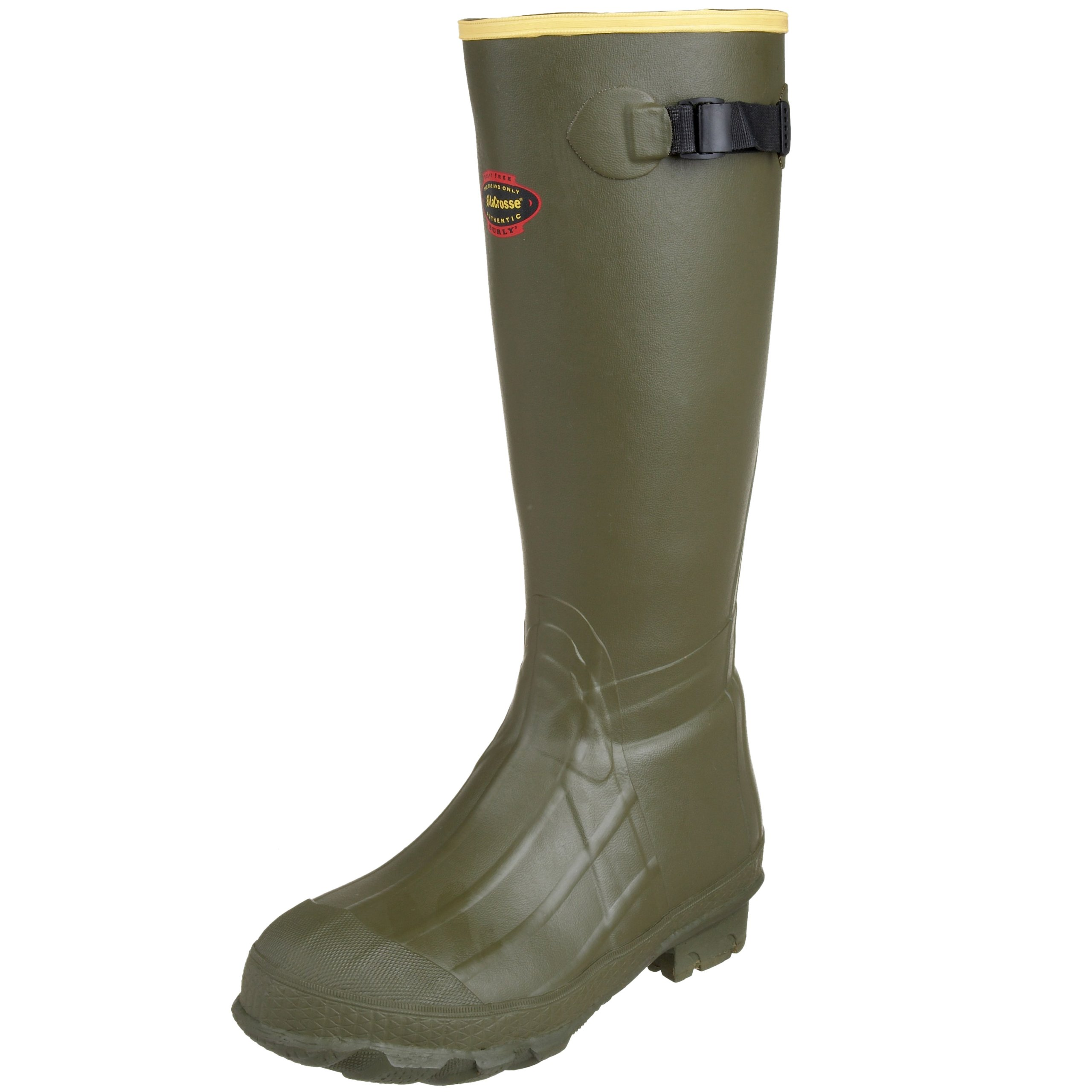 LaCrosse Men's 18'' Burly Classic Hunting Boot,OD Green,5 M US by Lacrosse (Image #1)