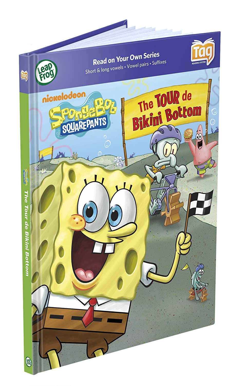leapfrog tag book spongebob squarepants the tour de bottom