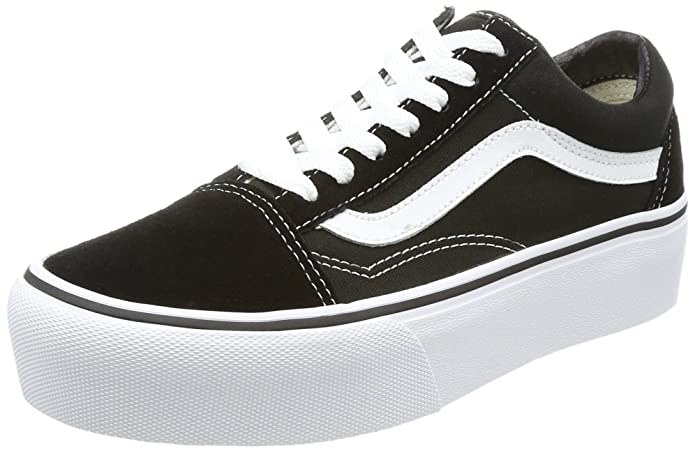 a54469d8 Vans Old Skool, Unisex Adults' Low-Top Trainers: Amazon.co.uk: Shoes & Bags