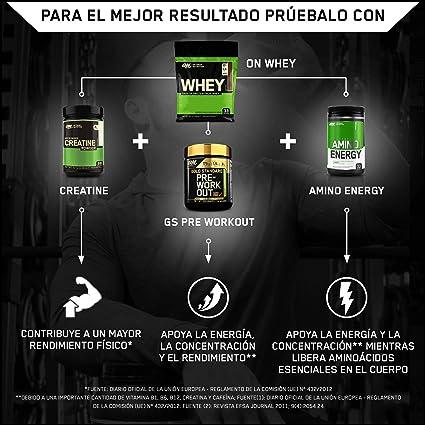 OPTIMUM NUTRITION ON Whey Proteina Isolate, Proteinas Whey en Polvo, Proteina de Suero para Masa Muscular y Musculacion, Bajo en Azúcar, Chocolate, 33 ...