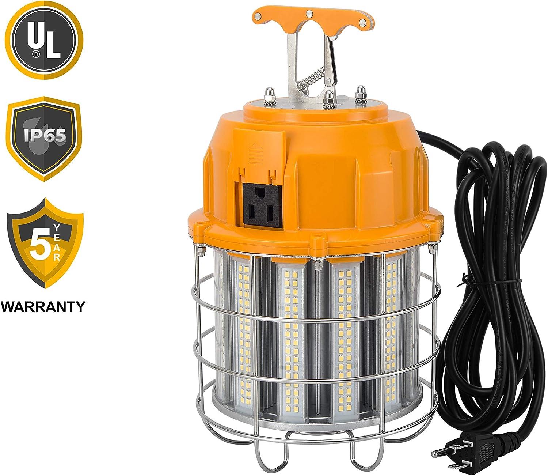 UL Listed AGENDA WorkLite 100 Watts LED Temporary High Bay Work Light Fixture