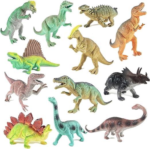 Boley Educational Dinosaur Toys 12 pack - kids 9