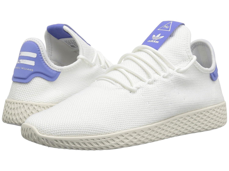 [adidas(アディダス)] メンズテニスシューズスニーカー靴 Pharrell Williams Tennis Human Race Bright Cyan/Bright Cyan/Chalk White 4 (22cm) D - Medium B07FVQ6VVF
