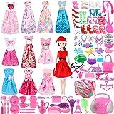 SOTOGO 101 Disfraces de muñeca y 11,5 Pulgadas de Ropa de muñeca para niñas, incluidos 11 Vestidos de Fiesta de muñecas…