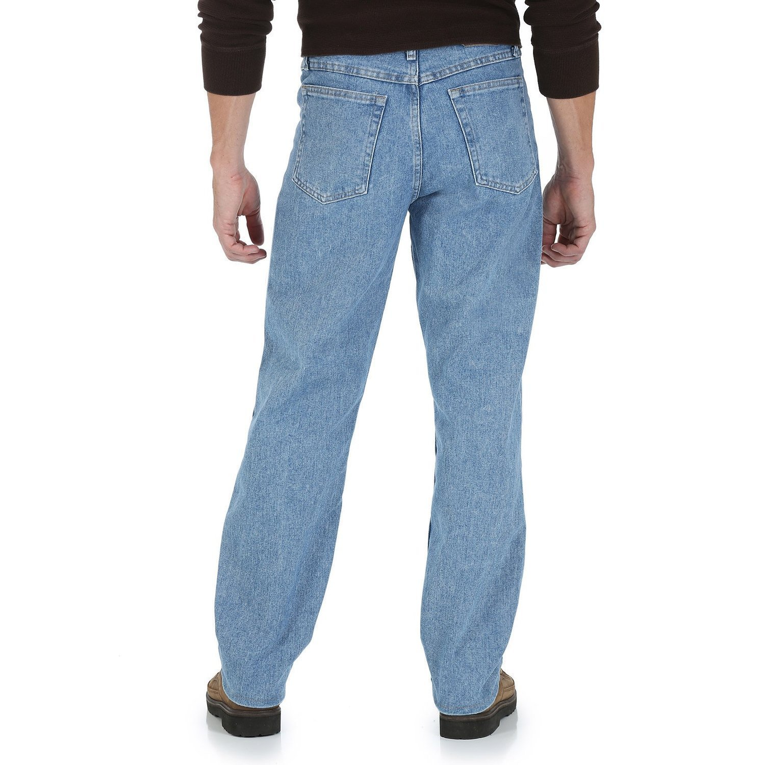 e9af8d83 Wrangler Men's 5-Star Relaxed Fit Jeans at Amazon Men's Clothing store: