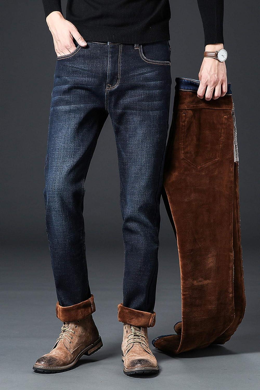 When Love-mans pants Men Activities Warm Jeans Winter Jeans Warm Cotton Soft,009rslan,31