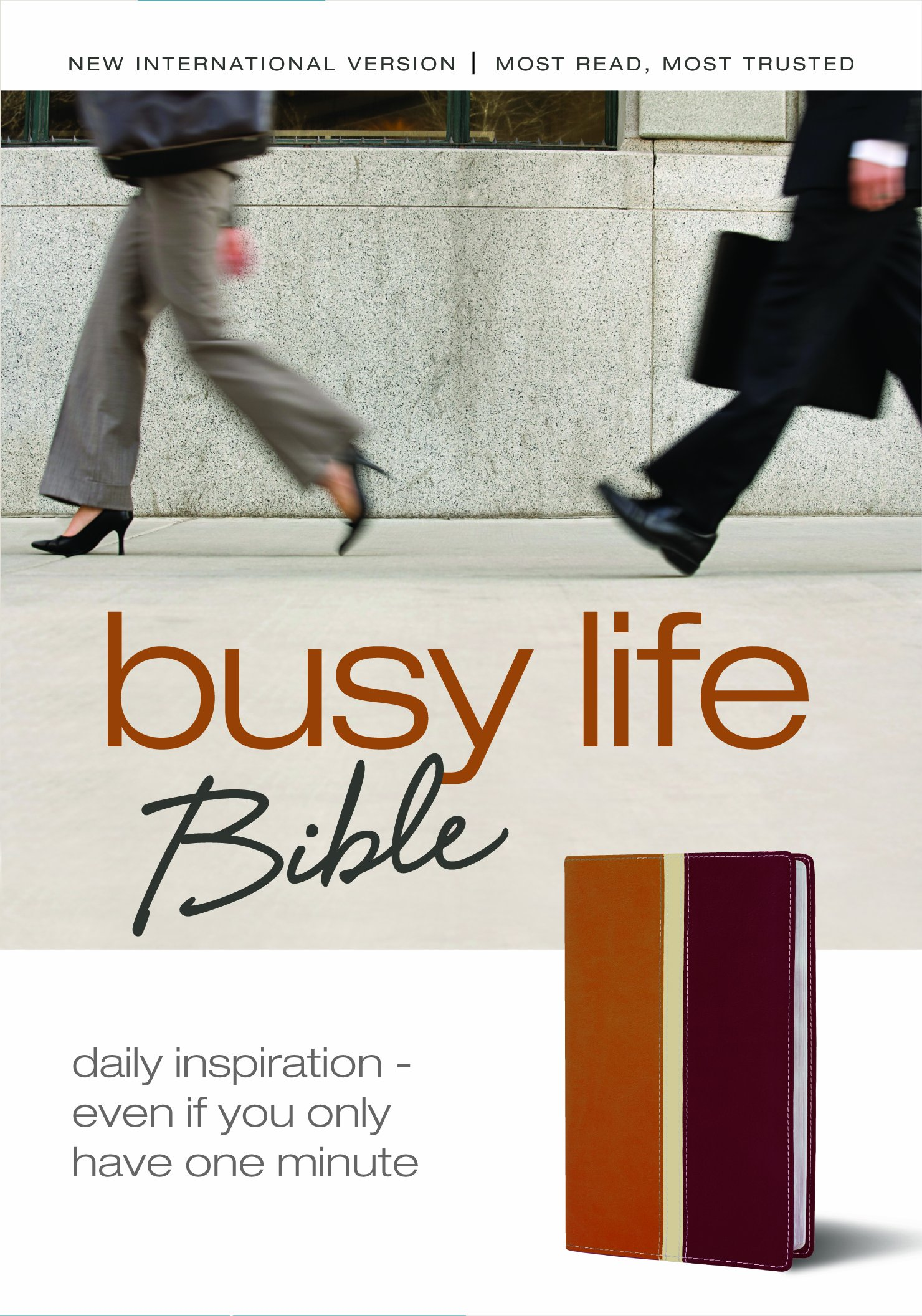 Busy Life Bible: Daily Inspiration--Even If You Only Have One Minute PDF