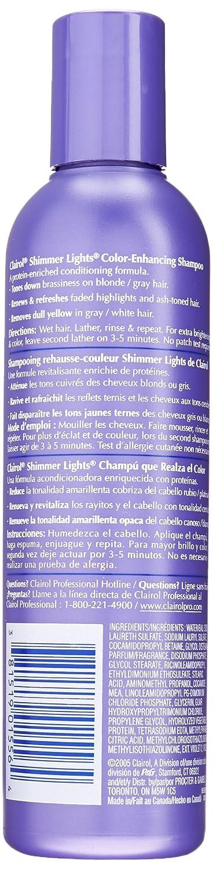 Amazon.com : Clairol Professional Shimmer Lights Shampoo Blonde U0026 Silver 16  Oz : Hair Shampoos : Beauty