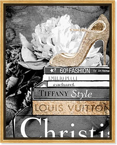The Oliver Gal Artist Co. Fashion and Glam Framed Wall Art Canvas Prints Mind' Shoes Home D cor