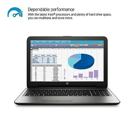 amazoncom hp notebook 15ay011nr 156inch laptop 6th gen intel core i56200u processor 8gb ddr3l sdram 1tb hdd windows 10 silver computers u0026