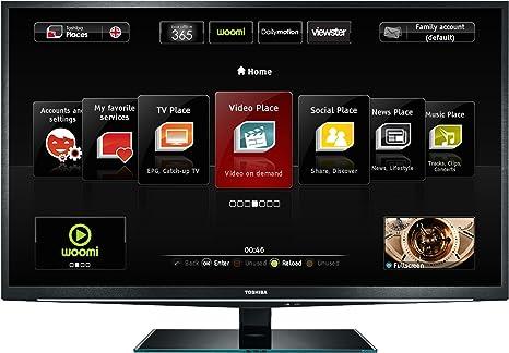 Toshiba 40 TL 868 G - Televisor LED Full HD 40 pulgadas (Internet, 3D): Amazon.es: Electrónica