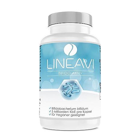 Bífidus activo LINEAVI | 5 mil millones de UFC activas | con lactobacillales del género Bifidobacterium
