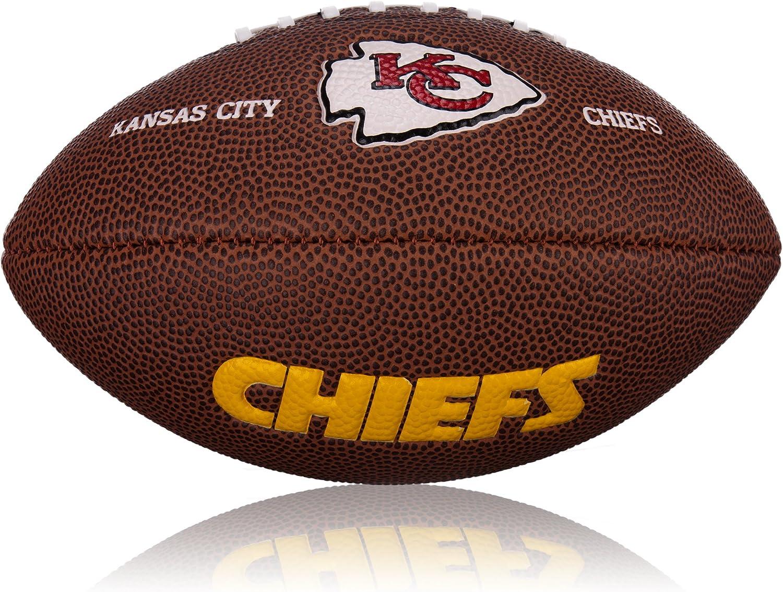Wilson Football NFL Mini Kansas City Chiefs Logo - Balón de fútbol ...