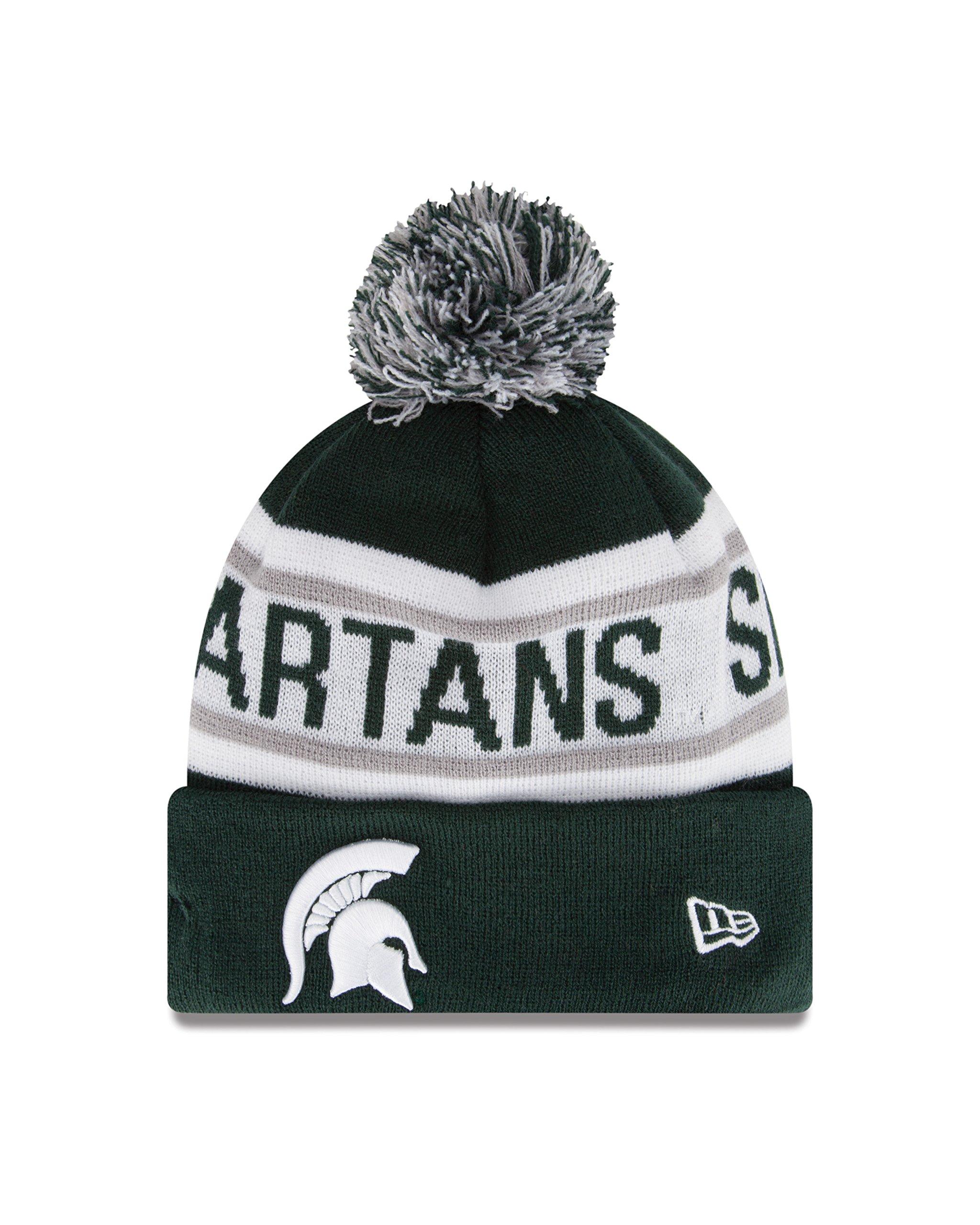 New Era NCAA Michigan State Spartans Biggest Fan Redux Beanie