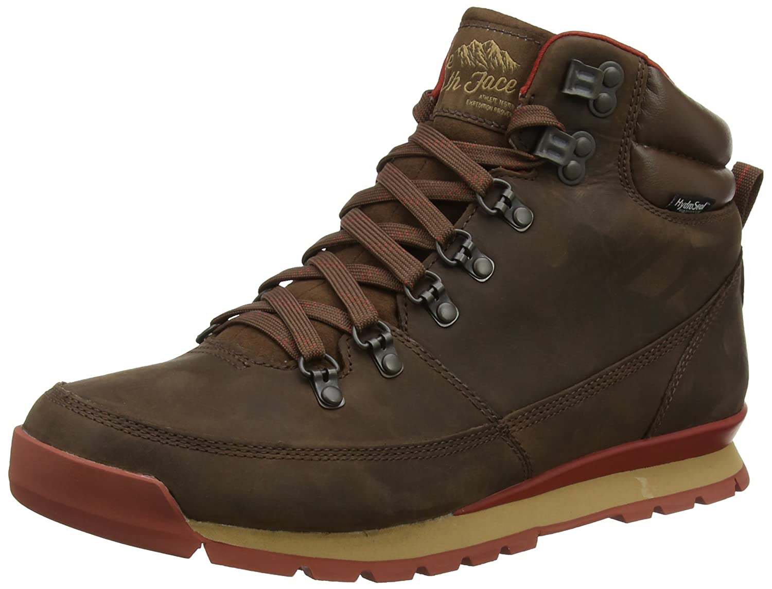 Amazon.com | The North Face Back-To-Berkeley Redux Leather Mens (10.5M, Carafe Brown/Ketchup Red) | Hiking Shoes