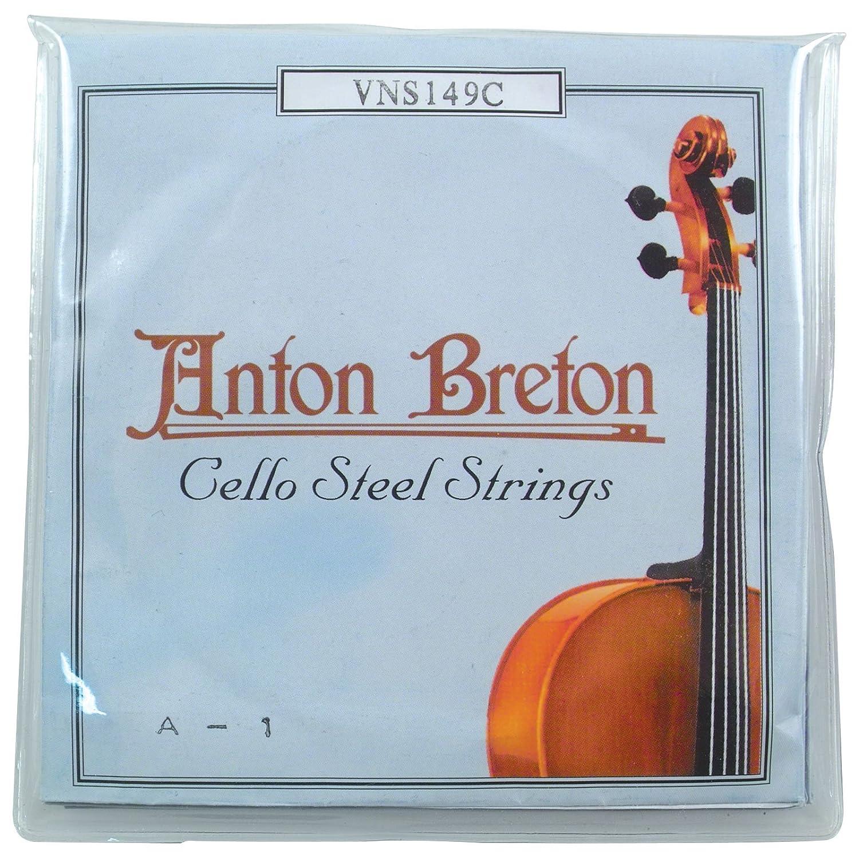 Anton Breton VNS-149C Standard Cello Strings - 4/4 Size