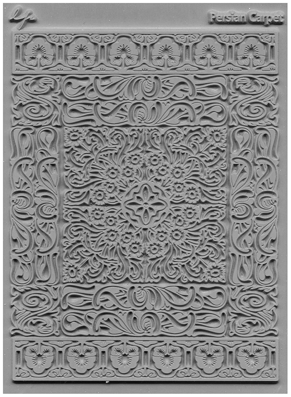 Lisa Pavelka 527045 Texture Stamp Persian Carpet JHB International