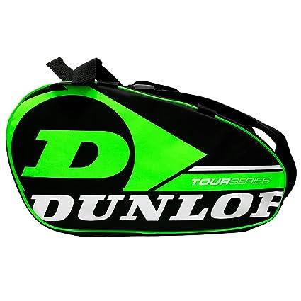 Dunlop Paletero de pádel Tour Intro Negro/Verde Flúor: Amazon.es ...