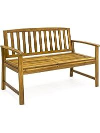 Amazoncom Benches Patio Seating Patio Lawn Garden