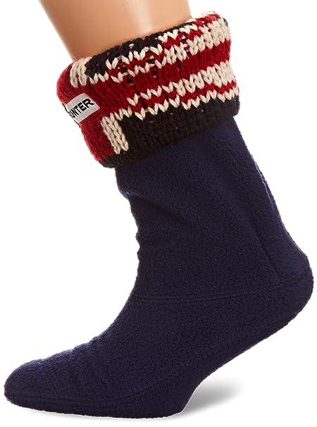 Hunter Manufacturing - Calcetines para niña, talla XX Small - talla inglesa, color Azul