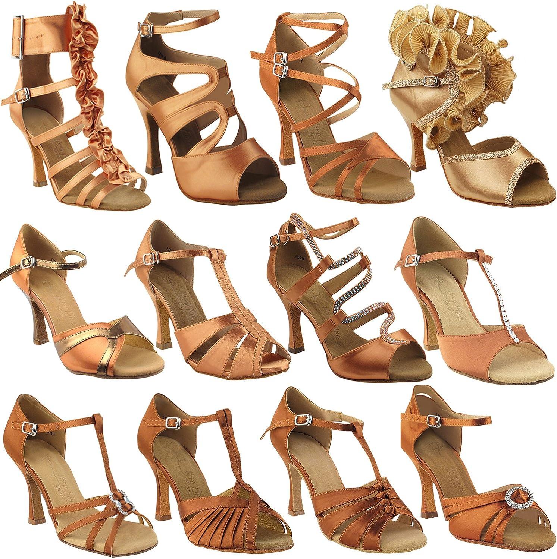 50 Shades Black Ballroom Salsa Latin Dance Shoes for Women
