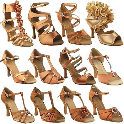 55aedcfdf02ba 50 Shades of TAN Dance Shoes for Women 1: Latin Ballroom Salsa Clubing  Wedding