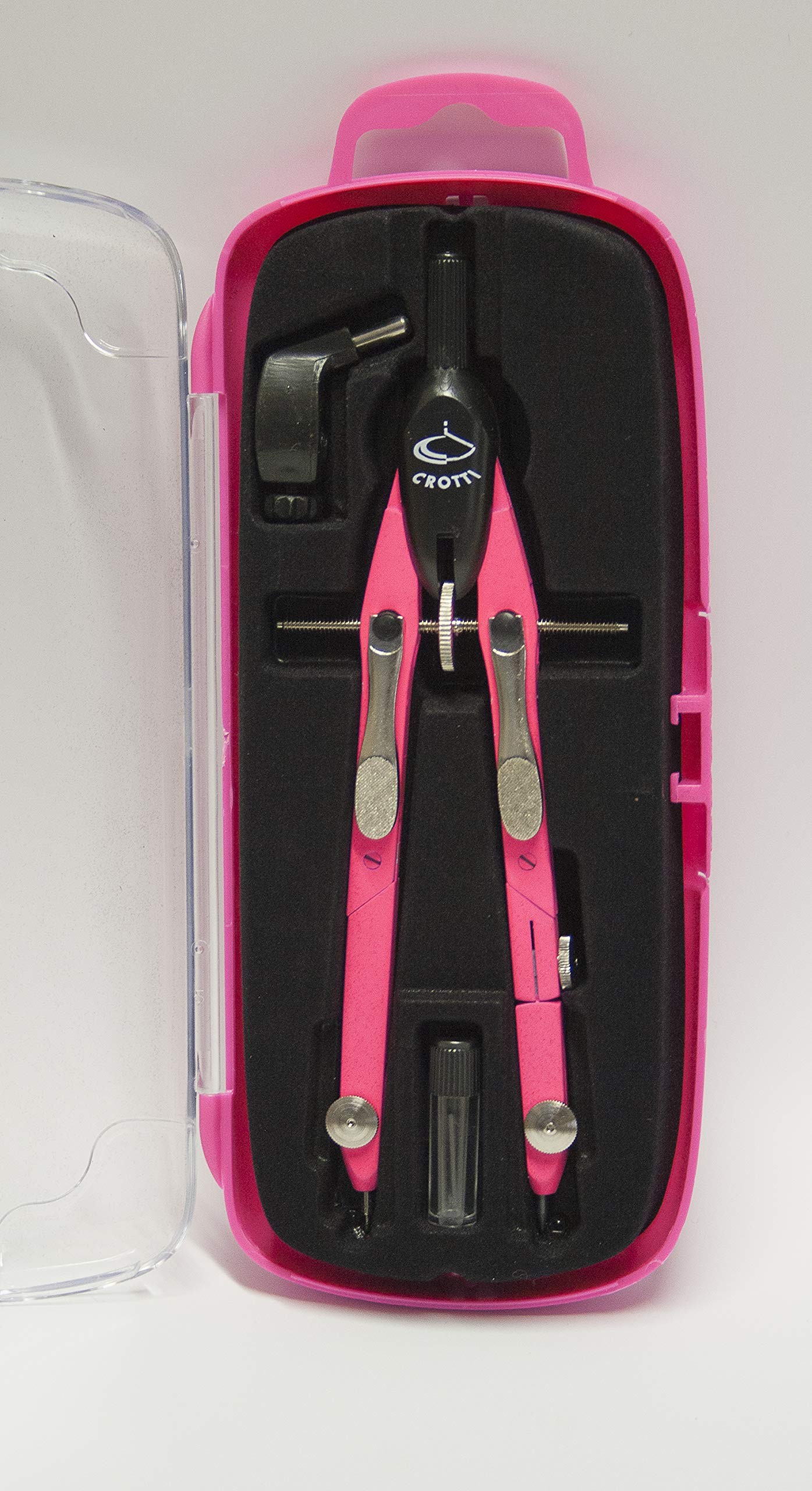 Metal balaustrone Double Joint with Quick Adjustment by Means of Metal levers - Neon Fuchsia.