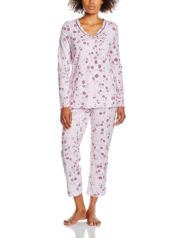 Rösch Damen Zweiteiliger Schlafanzug Modern Romantic 1163557