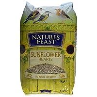 Nature's Feast Sunflower Hearts Wild Bird Food, 12.75 kg