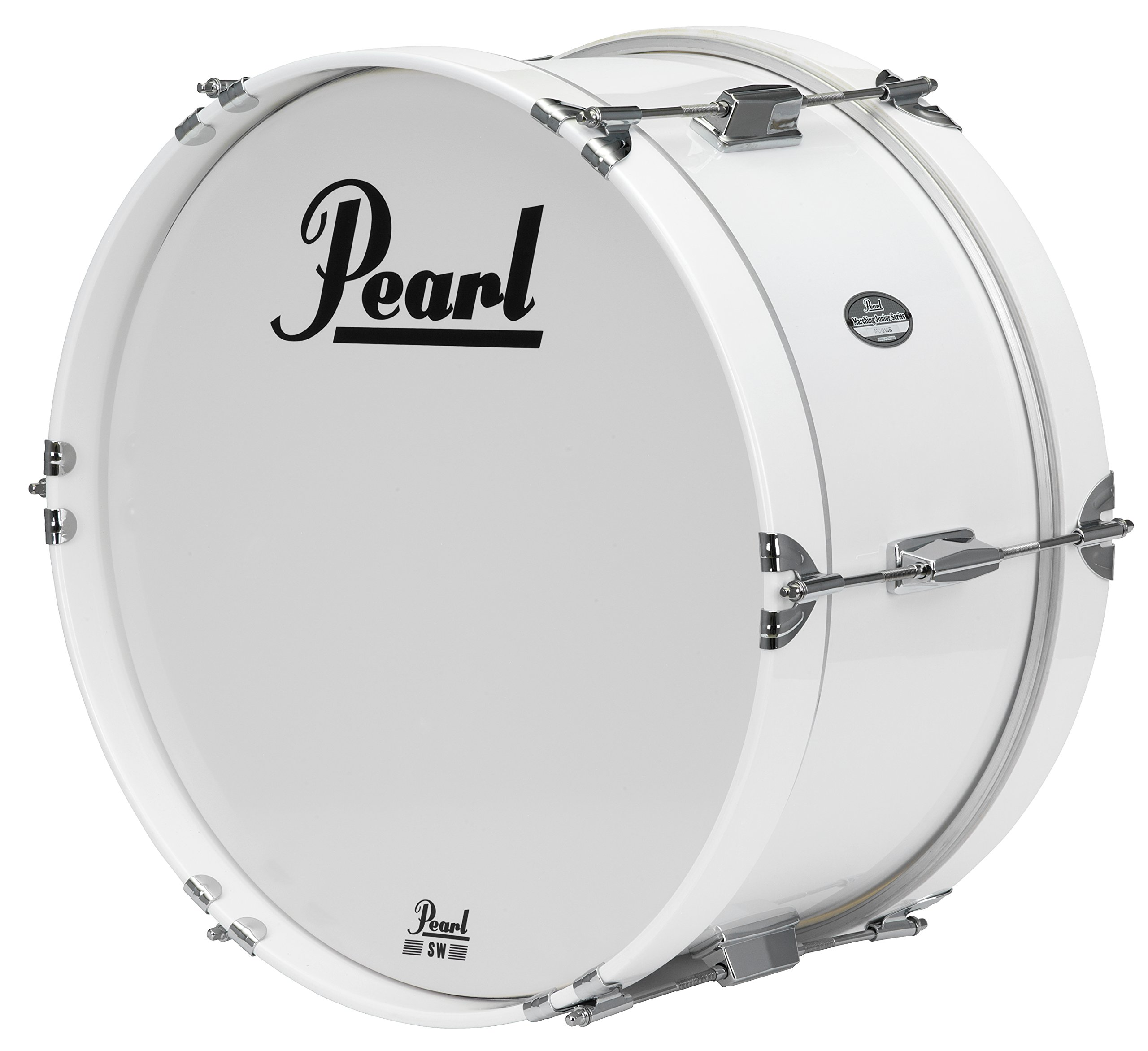 Pearl MJB1808/CXN33 18''x8'' Junior Marching Bass Drum and Carrier by Pearl