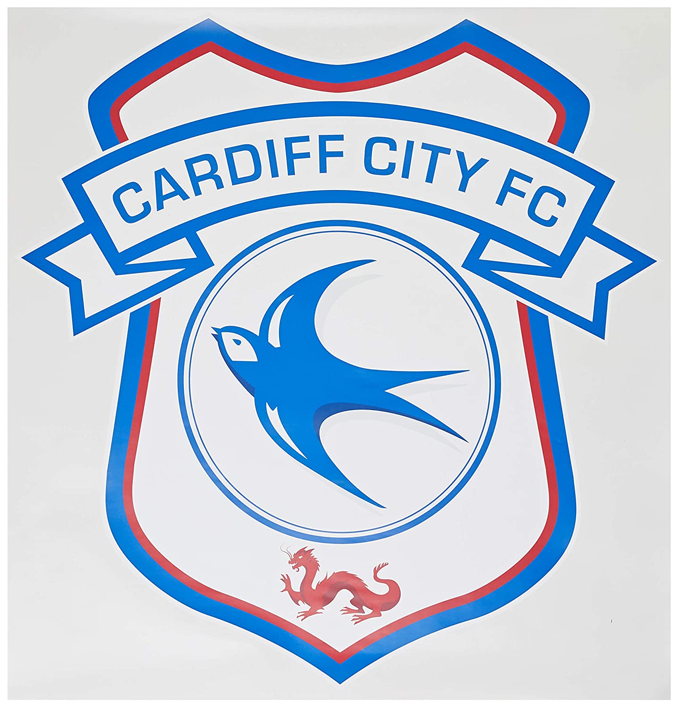 Cardiff City Football Club Crest /& Greatest Team Song Wall Sticker Vinyl Mural