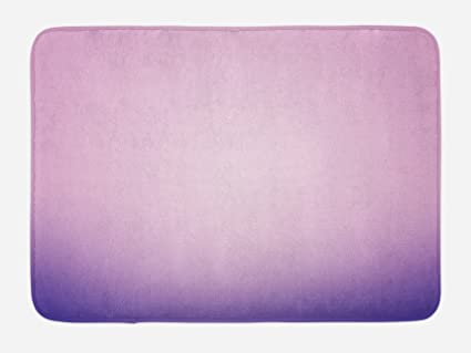 Sensational Ambesonne Lavender Bath Mat Pink And Purple Ombre Print Modern Pastel Color Gradient Design Digital Art Plush Bathroom Decor Mat With Non Slip Home Interior And Landscaping Ologienasavecom