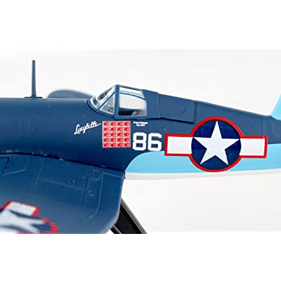 Postage Stamp F4U Corsair 1/100 Pappy BOYINGTON PS5356-3: Toys & Games