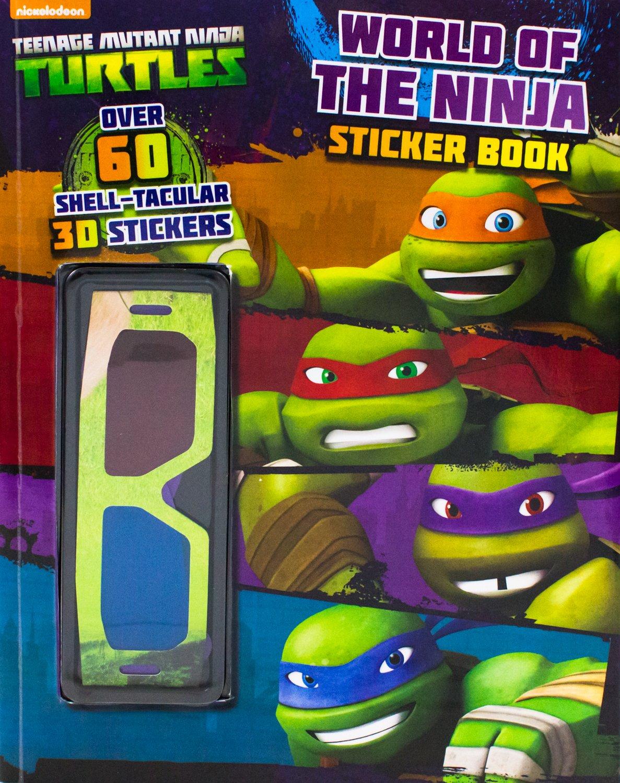 Teenage Mutant Ninja Turtles World of the Ninja Sticker Book ...