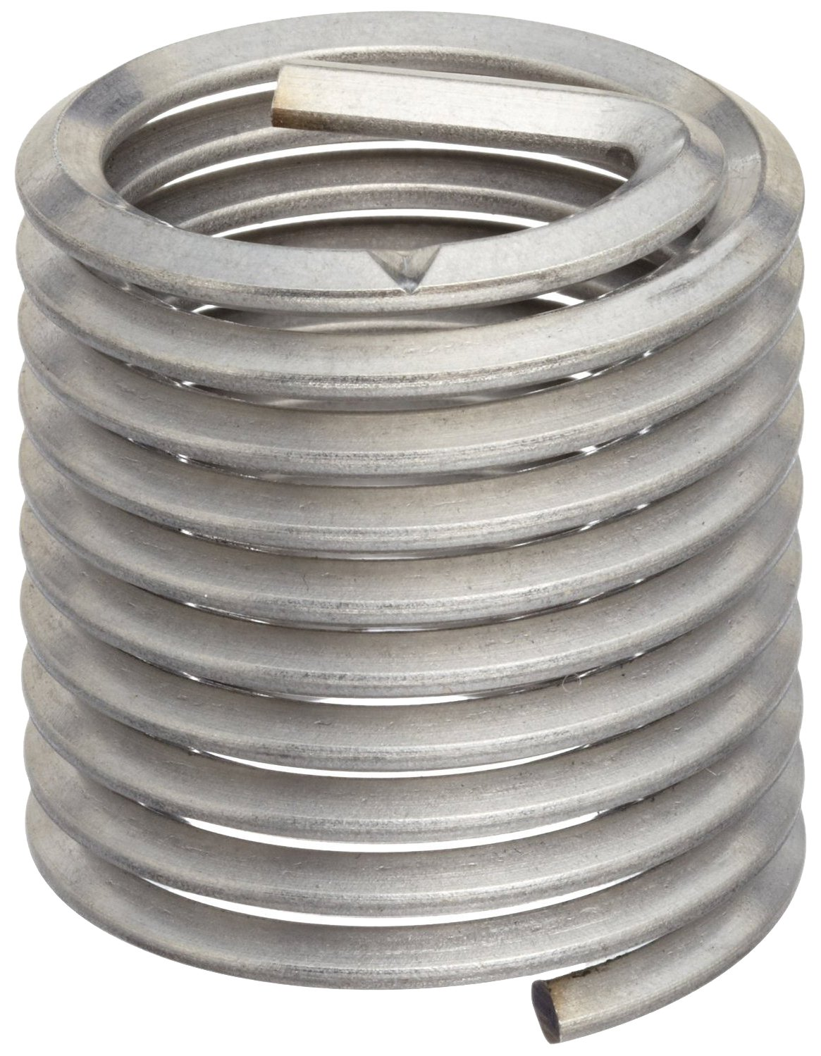 304 Stainless Steel Pack of 5 Helical Powercoil 3520 Series Threaded Insert M14-2.0 Internal Threads 3520-14.00X2.0DP 28mm Length