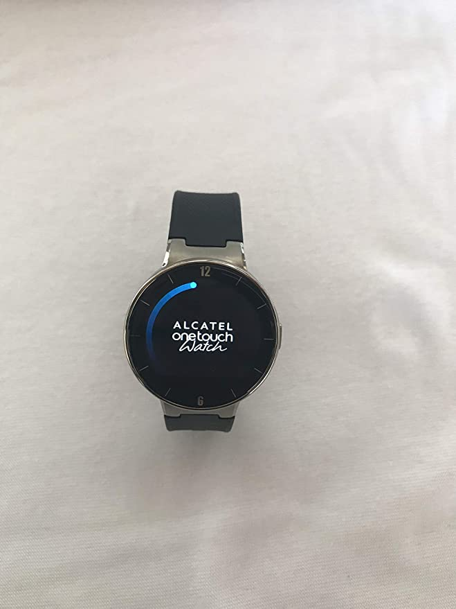 Amazon.com: Alcatel One Touch Smart Watch, 41.8 mm, Black ...