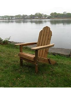 2 Pack Solid Cedar Folding Adirondack Chairs