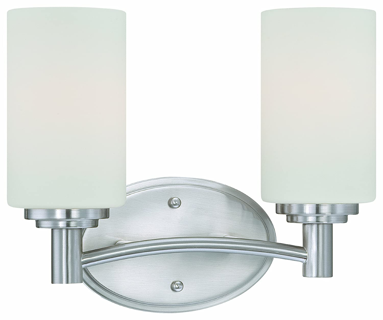 Thomas Lighting 190022217 Pittman Bath Light, Brushed Nickel