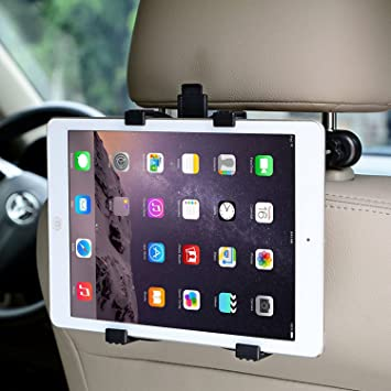 Soporte tablet para reposacabezas de coche - Compatible con Apple iPad Air / Mini, Samsung