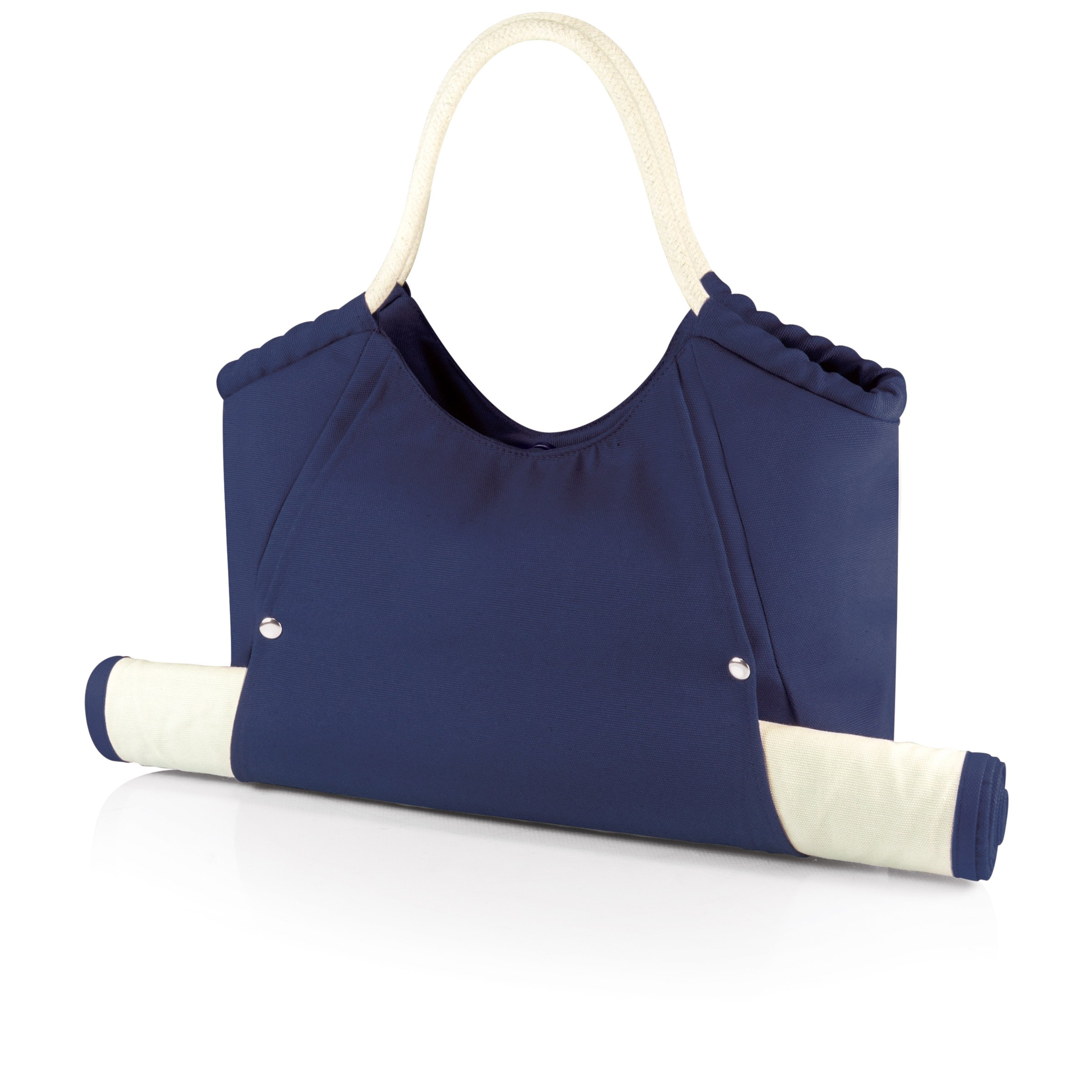 ONIVA - a Picnic Time Brand Cabo Beach Tote with Mat, Navy by ONIVA - a Picnic Time brand