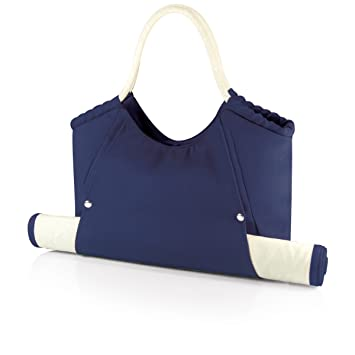 Amazon.com : Picnic Time 'Cabo' Beach Tote with Mat, Navy ...